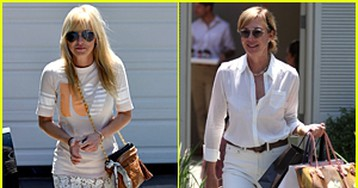 Mom's Anna Faris & Allison Janney Indulge at Hollywood's Most Exclusive Summer Party