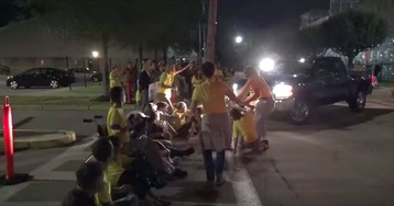 Correctional Officer Suspended After Truck Driven Into Jewish ICE Protesters