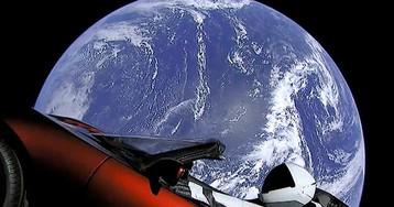 Elon Musk's Tesla Starman Roadster Completes Its First Orbit of the Sun
