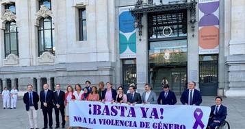 Vox no acude al minuto de silencio del Ayuntamiento por la víctima de violencia de género en Tetuán