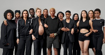 "Pharrell Champions Women's Rights With adidas Originals ""Now Is Her Time"" Campaign"