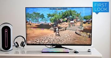Alienware 55 OLED Gaming Monitor — огромный игровой монитор за огромные деньги