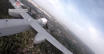 """Минобороны показало первый полет новейшего беспилотника """"Альтиус-У«"""
