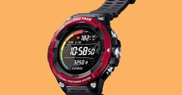 Casio Pro Trek WSD-F21HR smartwatch adds heart rate monitor