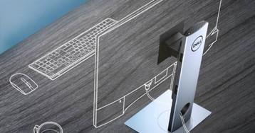 Dell OptiPlex 7070 Ultra modular PC hides inside a monitor stand