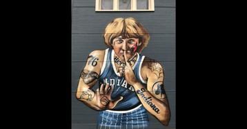 Larry Bird Complains After Artist's Mural Makes Him Seem Too Interesting