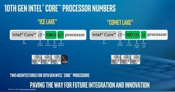 Представлена ещё одна линейка мобильных CPU Intel Core 10 поколения. На сей раз 14-нанометровых