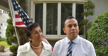 Soldier's mother could be among the last to benefit from immigration program