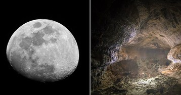 Europe's Space Agency Wants People to Live Inside Moon Caves