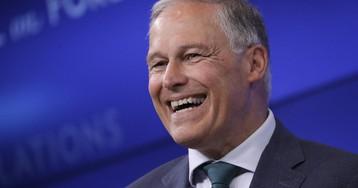 Inslee announces third term for Washington governor