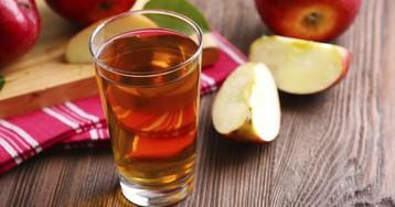 Как заготовить яблочный сок на зиму