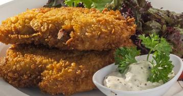 Запеченное куриное филе по-итальянски