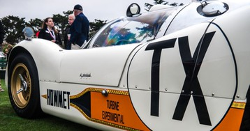 The Pebble Beach Concours in pictures: Plenty of posh cars and a parrot