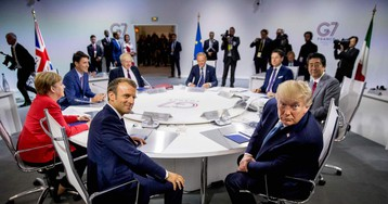 Tensions Simmer at G-7 Summit