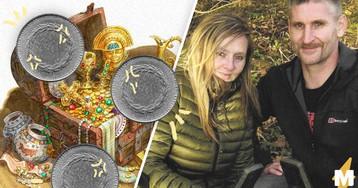 Пара нашла на поле мелочь, и это находка года. Монеты прячут в себе долгую историю и миллионное состояние