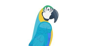 Анекдот про попугая, который всё время сквернословил