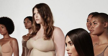 Kim Kardashian Renames Her Shapewear Collection 'SKIMS' — Um, Okay??