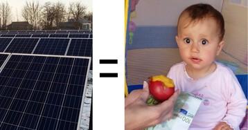[Из песочницы] Зарабатываем на солнечной энергии или пассивный доход в 25% годовых, практический опыт