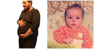 Трансгендер родил здорового ребенка, после того как стал мужчиной