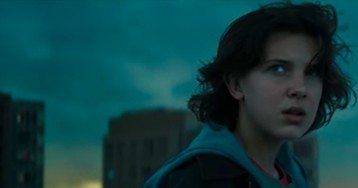 Millie Bobby Brown Tries to Make Contact in an Exclusive 'Godzilla' Deleted Scene
