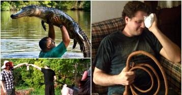 Снимки, реально показывающие, что жизнь представителей мужского пола очень веселая, однако более короткая, нежели женская