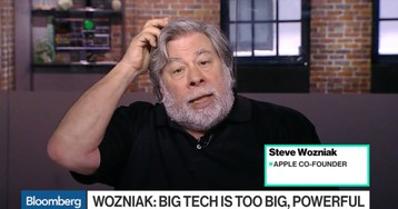 Steve Wozniak Says Big Tech Companies Like Apple Should Be Broken Up