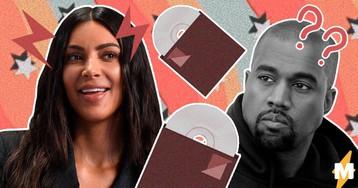 Ким Кардашьян намекнула на выход нового альбома Канье Уэста, но упс. Фанам не понравилось то, что они увидели