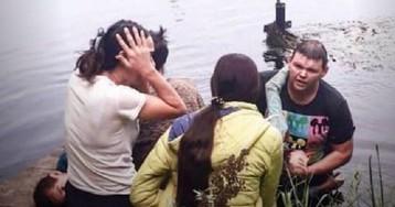 15 секунд на дне: В Подмосковье мужчина вытащил из воды мальчика и девочку