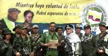 Marxist guerrilla fighters return to war thanks to Venezuela's Maduro
