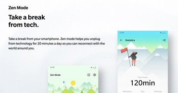 OnePlus publishes Zen Mode app to Play Store for faster updates