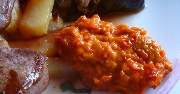 А́йвар— балканская закуска