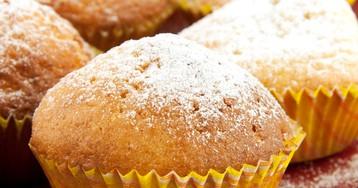 Вкуснейшие творожные кексы