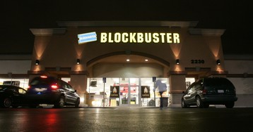 """Low interest rates could be a """"Blockbuster Video moment"""" for the world's biggest banks"""