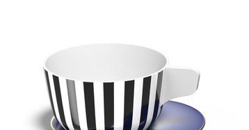 The Shadow Collection Tableware Is Playful yet Elegant