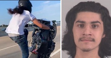 Texas man known as 'Baby Jesus' accused of taunting cops with motorcycle stunts arrested