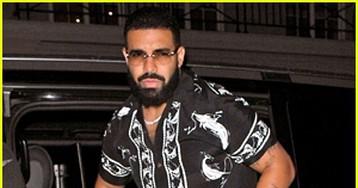 Drake Looks Stylish While Heading to Nobu in London