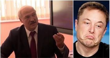 Лукашенко соврал школьникам, что Илон Маск подарил ему электромобиль Tesla