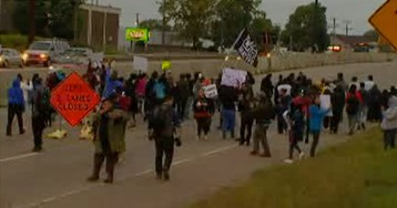 Protests in Minnesota over officer-involved shooting after chase streamed on Facebook Live