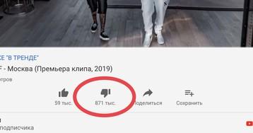 Клип Тимати и Гуфа установил рекорд по дизлайкам в России
