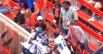 Jerkass Browns Fan Doused Some Celebrating Titans Players In Beer