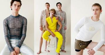 «Мачо— это устаревшее клише»: интервью сдизайнерами феминной мужской одежды Lazoschmidl