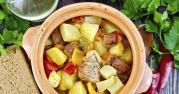10 лучших рецептов тушёной картошки с курицей