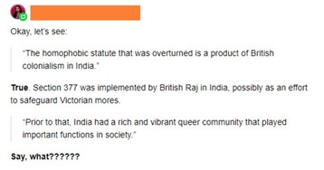 Indian Woman Clears Up Misleading Tumblr Thread