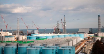 Fukushima radioactive water will have to be dumped into Pacific, Japan's environment minister says