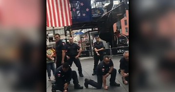 New Zealand firefighters perform 'haka' to honor 9/11 first responders