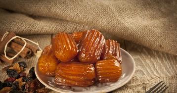 """Традиционный турецкий десерт """"tulumba"""""""