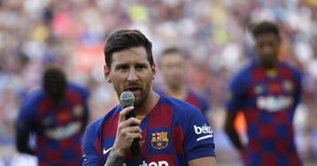 La desesperante lesión de Messi coarta al Barça