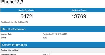 Dados preliminares deixam em aberto se os novos iPhones têm 4GB ou 6GB de RAM