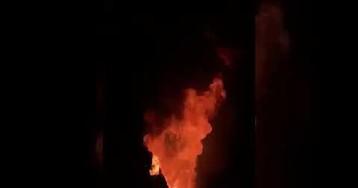 Сенцов сжег робу и пожелал российским тюремщикам гореть в аду