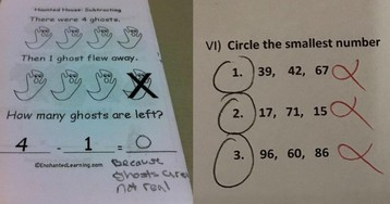 When Kids Outsmart Examiners (11 Images)